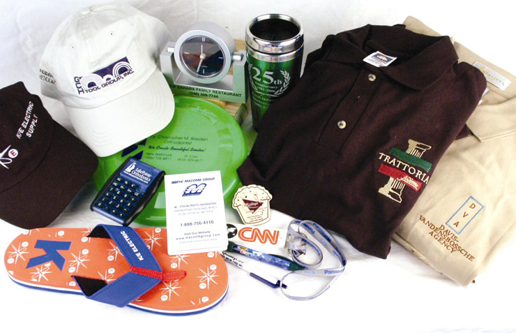Promotional clothing + products